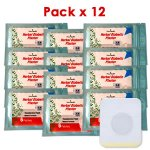 Parche Herbal Antidiabético Pack x 12